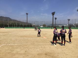 第66回 全国私立高等学校女子ソフトボール選抜大会 予選リーグ 第1試合 第2試合