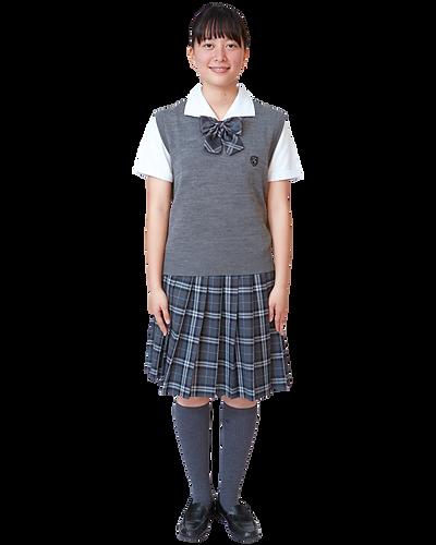 藤村女子高校,ベスト,制服