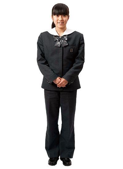 藤村女子中学,制服,冬服,夏服,ズボン,スラックス,SEISO,清楚,