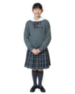 藤村女子中学校セーター