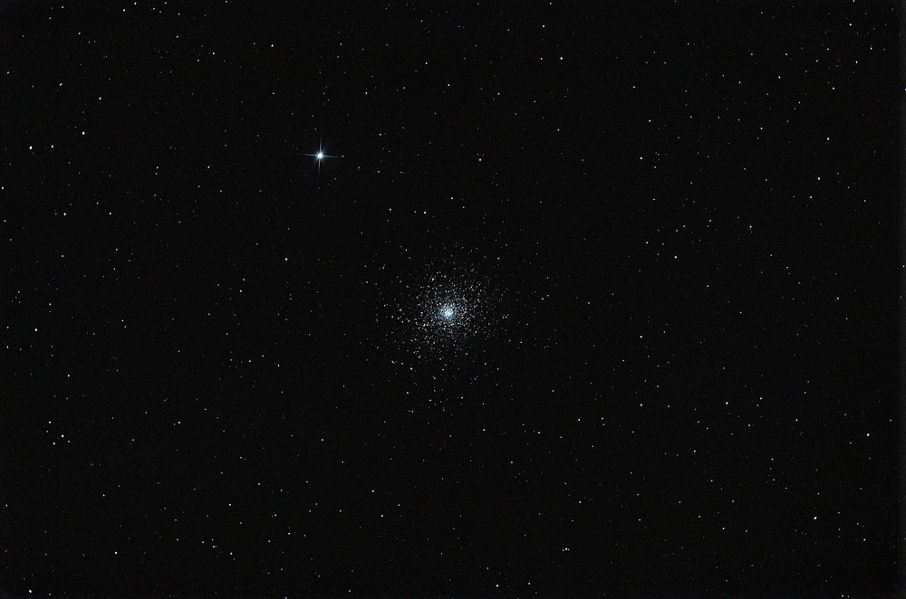 Messier 4 as seen by an amateur telescope