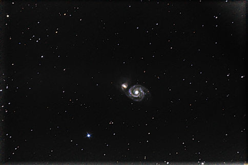 Messier 51 - Whirlpool Galaxy