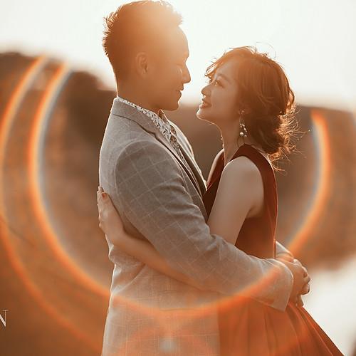 牽著一樣溫暖的手 / 新竹自主婚紗