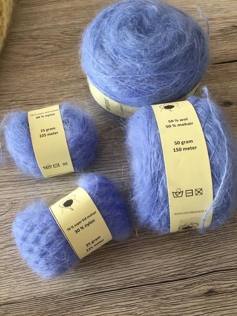 italy mohair blue 2450