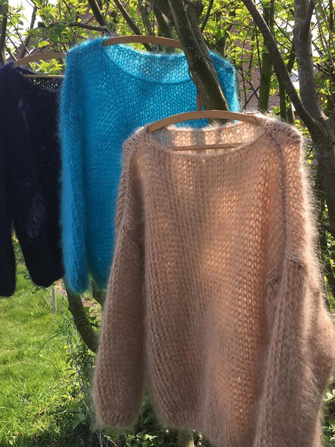 Mohair fine sweaters