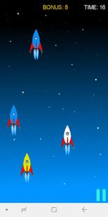 игра Catch The Rocket