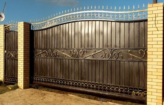 Консольные ворота