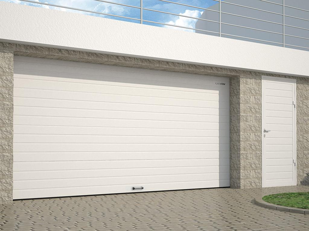 Гаражные секционные ворота и гаражная дверь