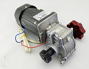 Электро двигатель с редуктором от шлагбаума