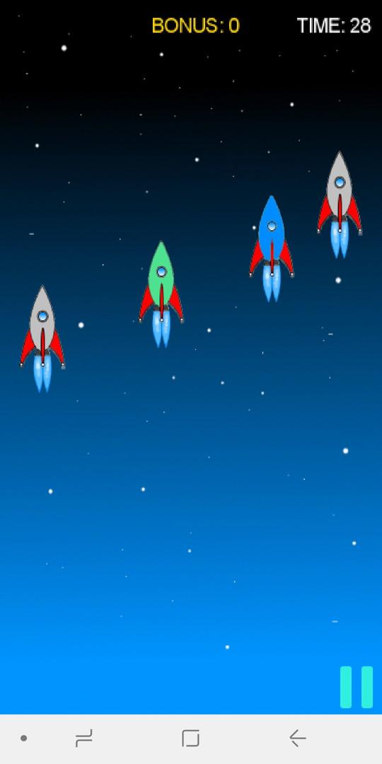 играй Catch The Rocket