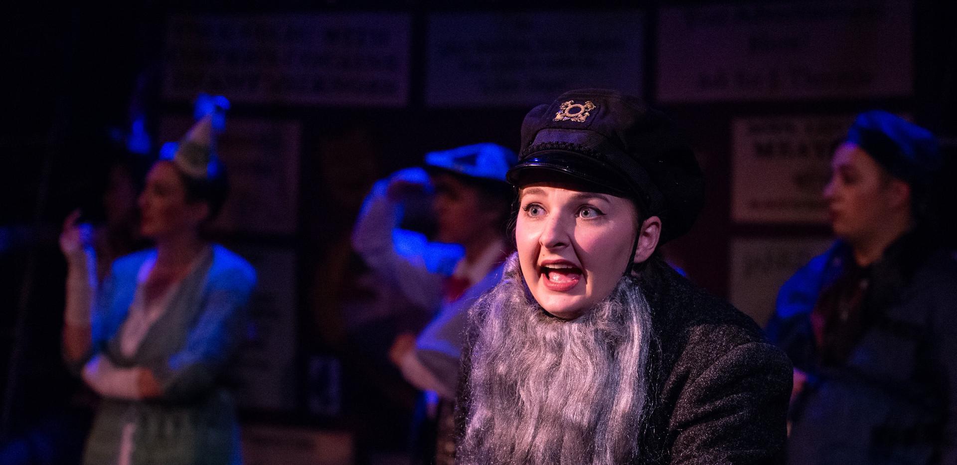 Elyssa Bjorkman as Alice Nutting as Dick Datchery