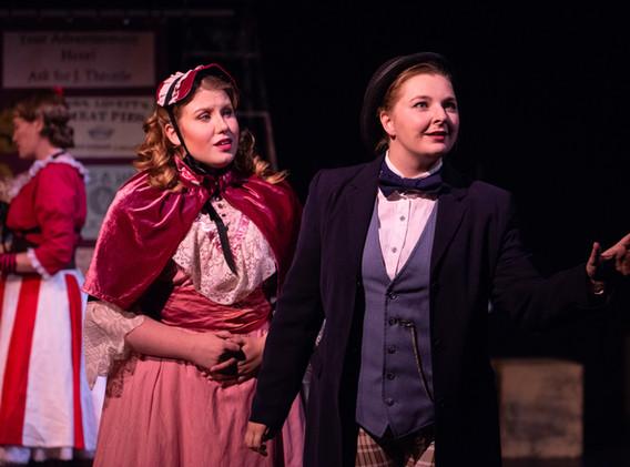 Liz Clutts and Elyssa Bjorkman