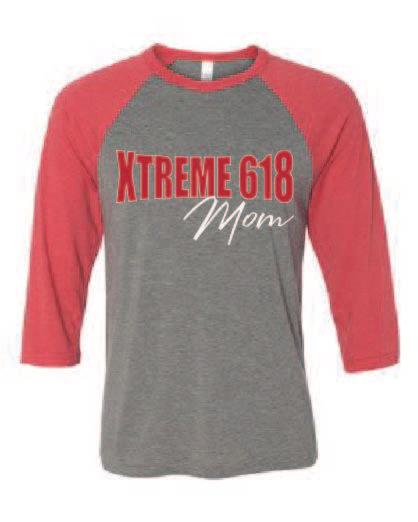 Xtreme 618 Raglan Tee