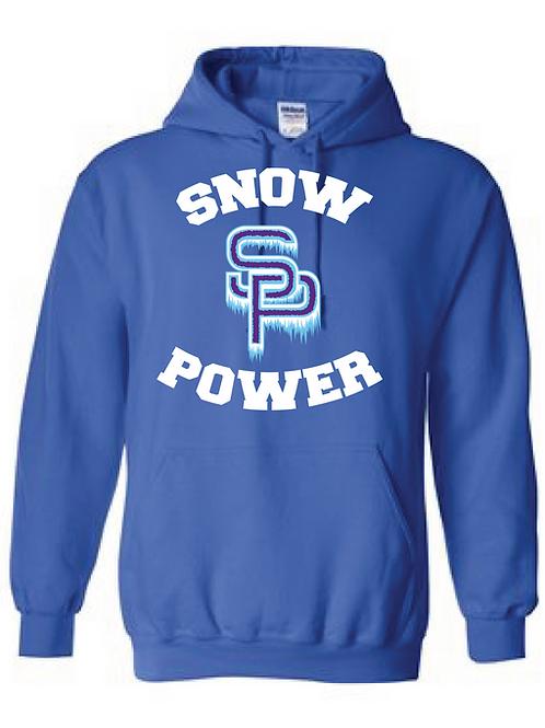 Snow Power Cheer Hoodie - Adult