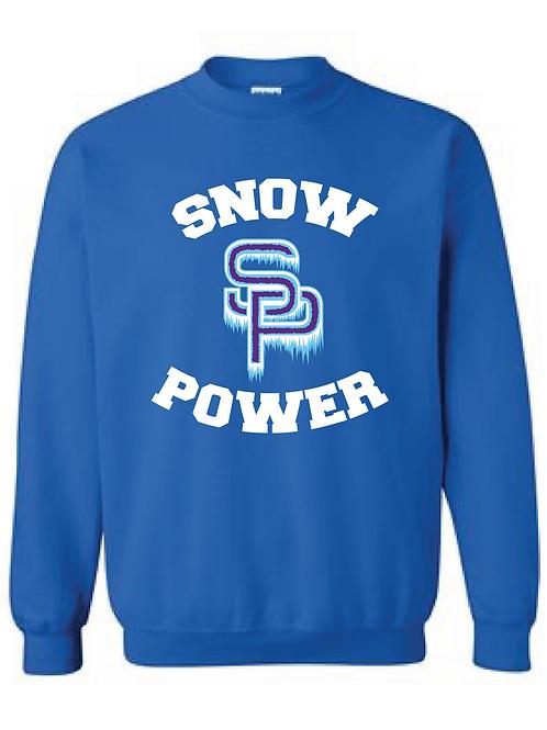 Snow Power Cheer Sweatshirt - Adult