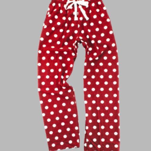 Boxer craft Flannel Polka Dot Pants