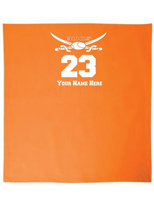 Bucs Logo Stadium Blanket