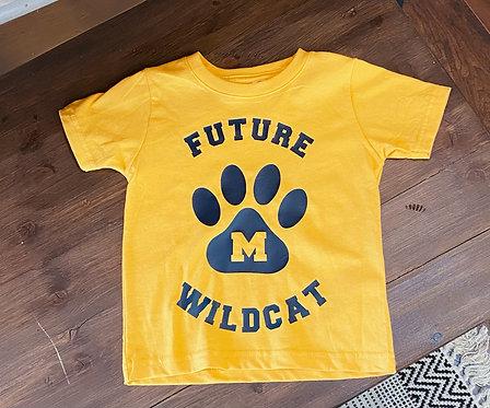 Toddler Future Wildcat Tee