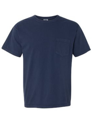 Comfort Colors Garment Dyed Pocket Tee