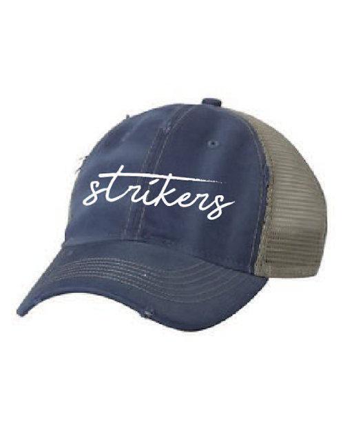 Strikers distressed hat