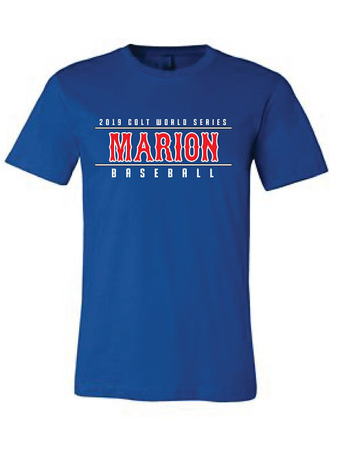 2019 Colt World Series Marion Tee