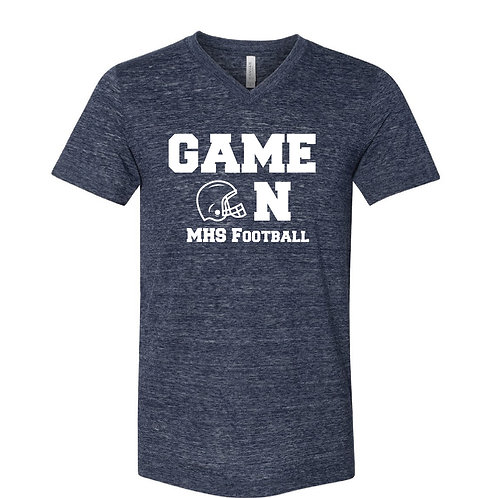 Marion Football Game On T Shirt