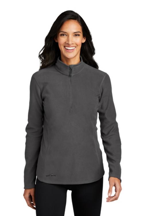 Eddie Bauer Ladies 1/2 Zip Microfleece Jacket
