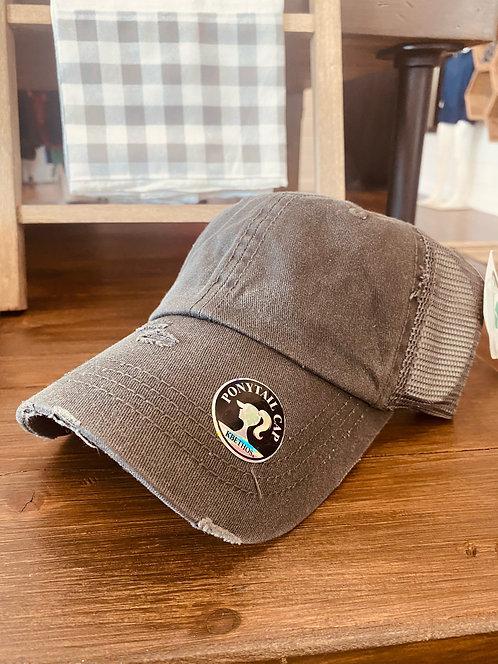 KBethos Ponytail Hat w/ Monogram