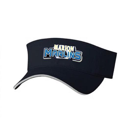 Marion Marlins Visor