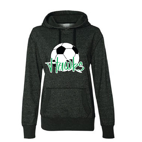 Hawks Soccer Glitter Hoodie