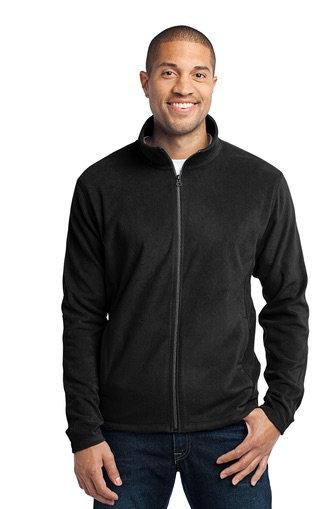 Port Authority Mens Microfleece Full Zip Jacket