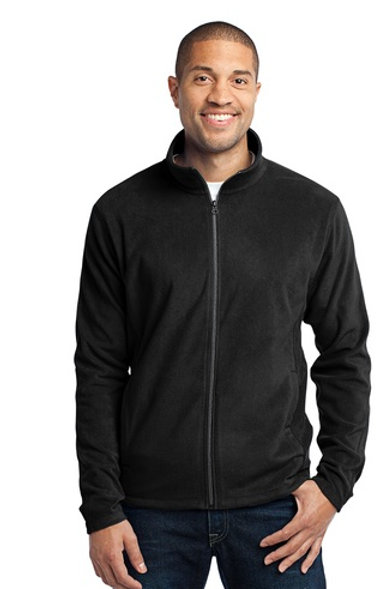 Port Authority Mens Microfleece Full Zip Jacket