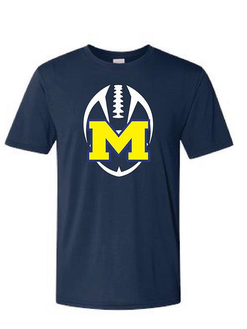 Marion Football Performance T Shirt