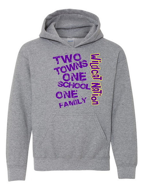 Two Towns Hoodie