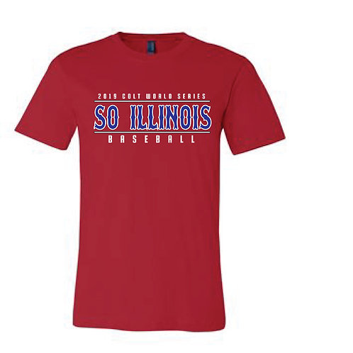 2019 Colt World Series SO. Illinois Tee