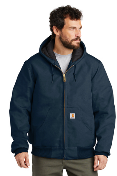Carharrt Quilted Flannel Lined Duck Active Jacket