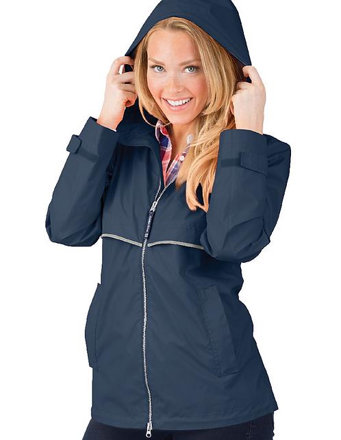 Charles River Ladies New Englander Rain Coat