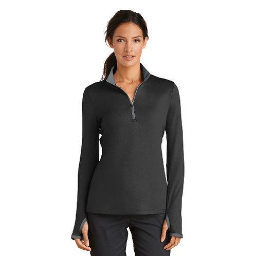 Ladies Nike Dri Fit Stretch 1/2 Zip