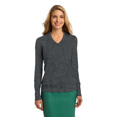 Port Authority Ladies V Neck Sweater