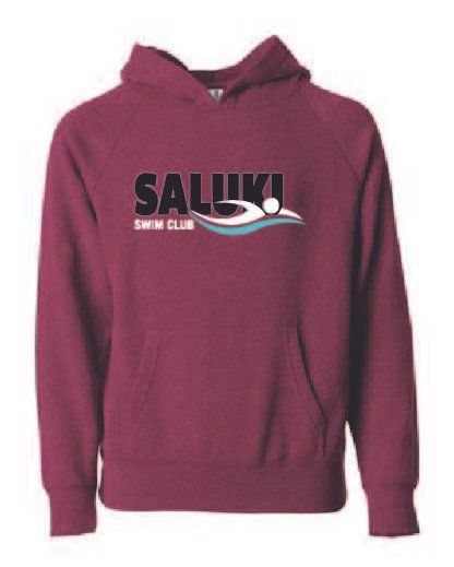 Saluki Swim Youth Hoodie