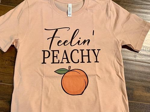 Feelin Peachy T Shirt