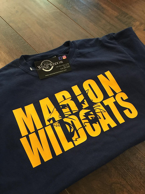 Marion Wildcats Tee - Youth