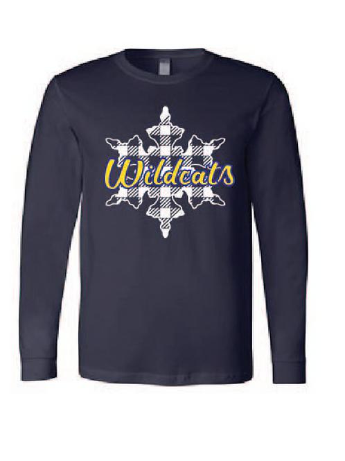 Wildcat snowflake shirt