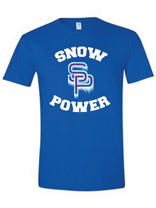 Snow Power Cheer T Shirt
