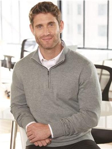 IAASE Mens Van Heusen 1/4 Zip Sweater