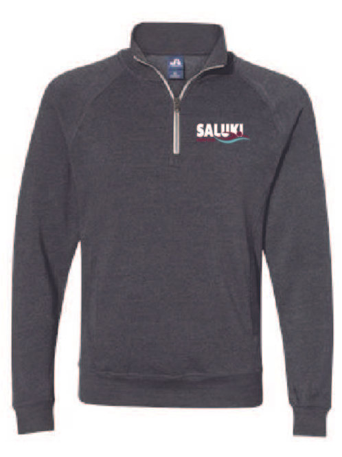 Saluki Swim Triblend Quarter Zip