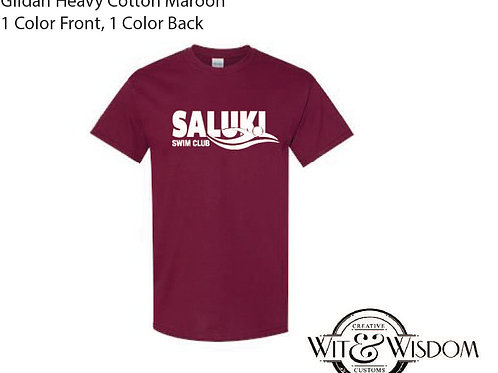 Saluki Swim Club T Shirt