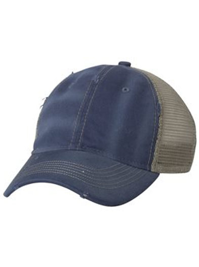 Sportsman Distressed Hat with Logo