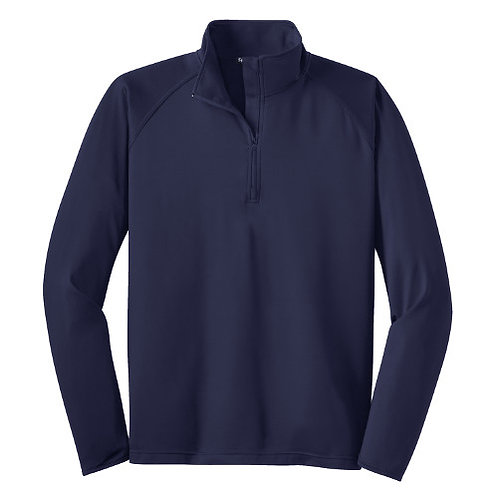 Sport Tek Wick Stretch 1/2 Zip Pullover