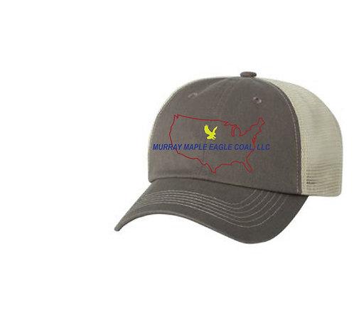 Murray Maple Eagle Logo Hat
